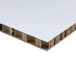 cartone alveolare bianco 10mm non stampato
