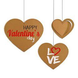 rotair in cartone set tematico san valentino