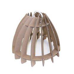 lampada di cartone modello sirio