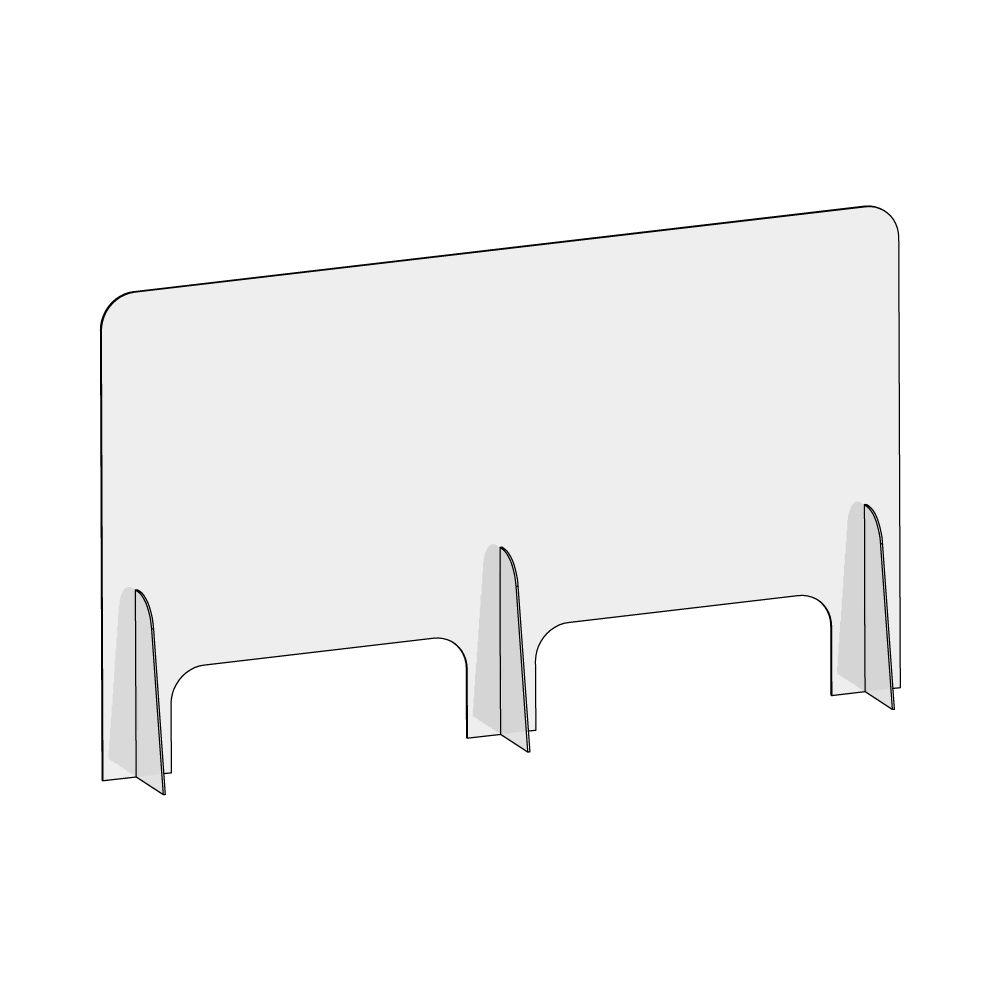 barriera-protettiva-wally-120x70-dritta-disegno prospettiva senza quote
