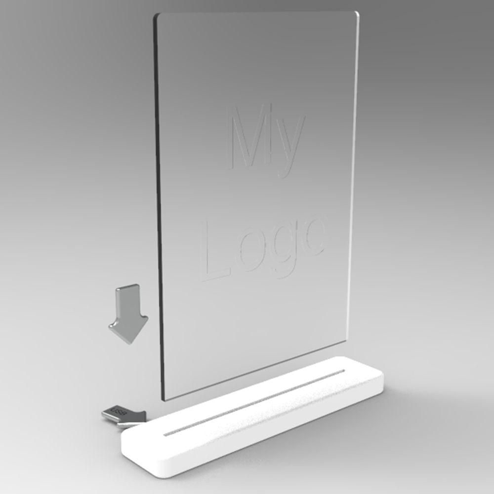 lampada 3d formato a4 rendering 1