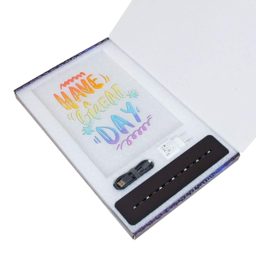 lampada-3d-formato-a4-scatola-aperta
